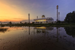 Central Mosque at Songkhla  Southern Province thailand Royalty Free Stock Image