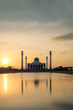 The Central Mosque of Songkhla in Thailand Royalty Free Stock Photos