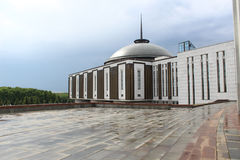 Central Museum of the Great Patriotic War. Victory Park. Poklonnaya Hill Royalty Free Stock Image