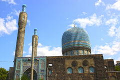 Central Muslim mosque in St. Petersburg Stock Photos