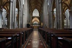 Central nave, Bristol, UK stock photos