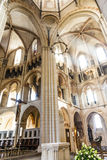 The central nave of the Limburg Cathedral Stock Photo