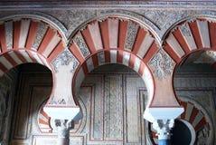 Central Nave, Medina Azahara. Royalty Free Stock Photos
