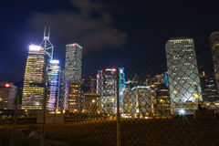 Central Night Royalty Free Stock Image