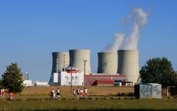 Central nuclear 12 Foto de Stock