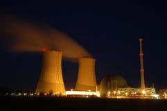 Central nuclear Fotografía de archivo