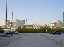 Central nuclear alemana Fotos de archivo