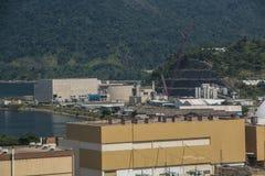 Central nuclear de Angra Imágenes de archivo libres de regalías