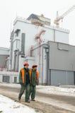 Central nuclear de Chernobyl Foto de archivo libre de regalías