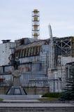 Central nuclear de CNPP Chernobyl com sarcófago Fotografia de Stock Royalty Free