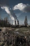 Central nuclear de Doel, Amberes, Bélgica 17 de enero de 2015 Foto de archivo