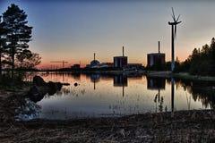 Central nuclear de Olkiluoto Foto de archivo libre de regalías