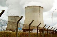 Central nuclear de Santo-Lorenzo Imagen de archivo