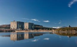 Central nuclear de Trawsfynydd Imagens de Stock
