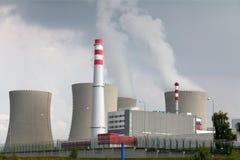 Central nuclear Dukovany em República Checa Europa Imagens de Stock