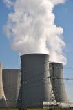 Central nuclear Temelin Foto de archivo libre de regalías
