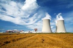 Central nuclear Temelin en la República Checa Europa Foto de archivo libre de regalías