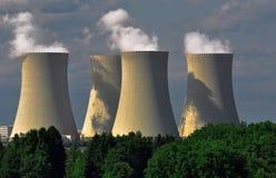 Central nuclear Temelin en la República Checa Europa Imagenes de archivo