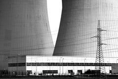 Central nuclear Temelin en la República Checa Europa Fotos de archivo libres de regalías