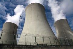 Central nuclear Temelin en la República Checa Europa Fotos de archivo