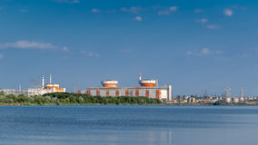 Central nuclear ucraniana del sur Imagenes de archivo