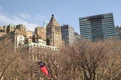 central ny park york royaltyfri bild