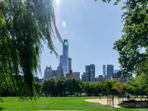 central ny park york Royaltyfri Foto