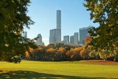 central ny park york för höst Royaltyfri Foto