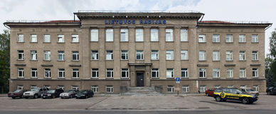 The central office of the Lithuanian State Radio Royalty Free Stock Images
