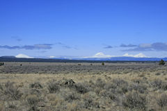 Central Oregon Cascades and High Desert Stock Images