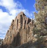 Central Oregon da rocha do órgão de tubulação imagem de stock royalty free