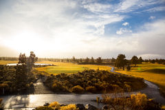 Central Oregon Golf Course Royalty Free Stock Photo