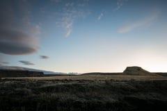 Central Oregon soluppgång Mt Jefferson Fotografering för Bildbyråer