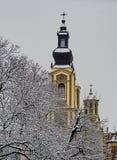 Central Ortodox domkyrka i Sarajevo Royaltyfri Foto