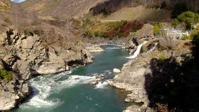 Central Otago del río de Kawerau fotos de archivo