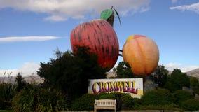 Central Otago do distrito de Cromwell fotografia de stock royalty free