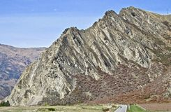Nevis Bluff near Queenstown, New Zealand. royalty free stock photo