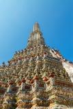 Central  Pagoda at Wat Arun - the Temple of Dawn in Bangkok Stock Images