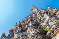 Central  Pagoda at Wat Arun - the Temple of Dawn in Bangkok Royalty Free Stock Images