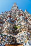 Central  Pagoda at Wat Arun - the Temple of Dawn in Bangkok Royalty Free Stock Image