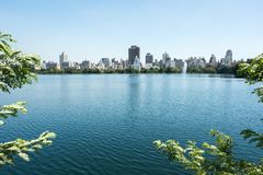 Central Park στην πόλη NYC της Νέας Υόρκης στοκ φωτογραφία με δικαίωμα ελεύθερης χρήσης