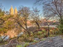 Central Park, όρμος Wagner Στοκ Φωτογραφίες