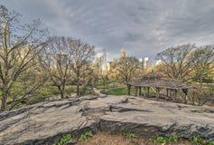 Central Park, весна Нью-Йорка Стоковые Фотографии RF