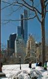 Central Park Манхаттан Нью-Йорк США стоковое изображение rf