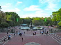 Central Park, Манхаттан, Нью-Йорк Стоковая Фотография