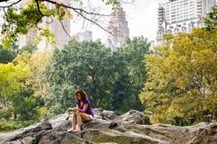 Central Park Нью-Йорка Стоковое Изображение