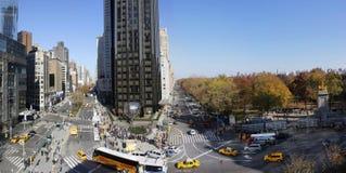 Central Park панорамный Стоковое Изображение RF