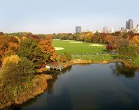 Central park 2006 nyc f Royalty Free Stock Photography