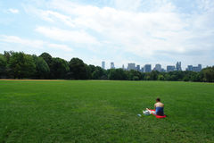 Central Park Royaltyfri Bild