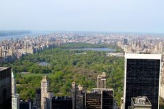 Central Park Imagem de Stock
